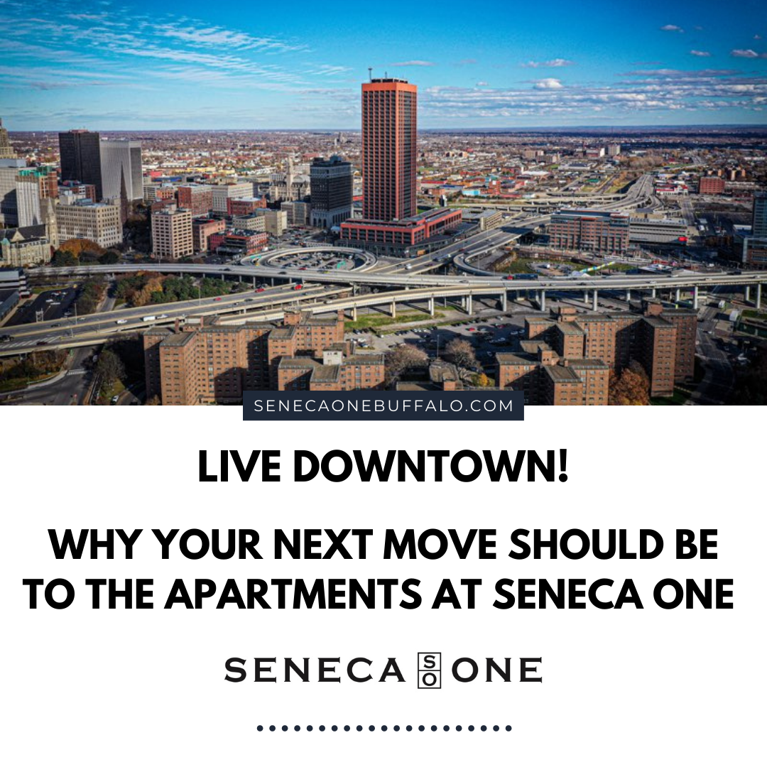 Live Downtown! Why your next move should be to the apartments at SO