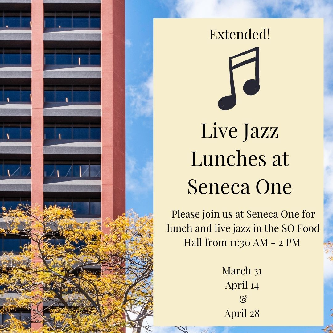 Extended! LIVE JAZZ LUNCH SERIES WITH VIN D